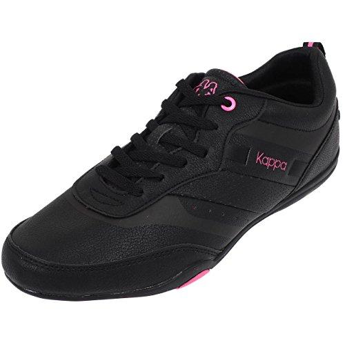 Kappa, Damen Sneaker Schwarz