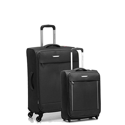 Roncato Live Juego de maletas, 74 liters, Negro (Nero)