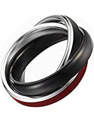 Esprit - ESRG11579D - Marin Black - Bague Femme - Acier inoxydable 4.2 gr