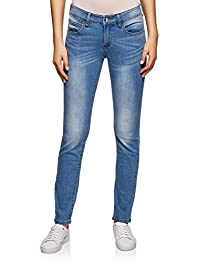 oodji Ultra Donna Jeans Slim Fit Basic