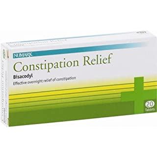 Numark constipation relief tablets 5mg 20 pack