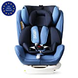 LETTAS Kinder Autositze Sitzschale Baby autositz 0+1/2/3 (0-36 kg) mit Protektoren seitliche Isofix ECE R44/04