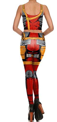 Belsen - Legging - Femme bleu Vest XL Vest