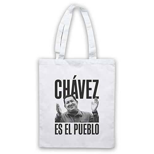 Hugo Chavez Es El Pueblo Umhangetaschen Weis