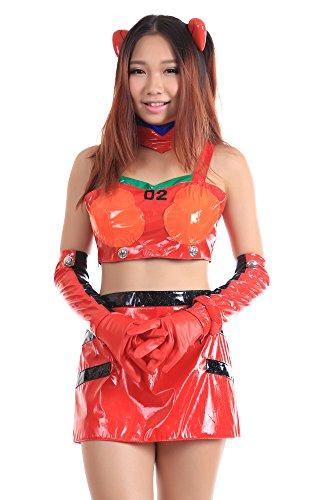 De-Cos Neon Genesis Evangelion Soryu Asuka Langley Racing Outfit 1st (Kostüm Soryu Asuka Langley)