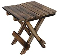 Living room folding table, baby table made from seasoned wood by Shah Handicrafts. It is solid and durable product and can be used for multiple purposes. It's uniquely crafted with a lot of work on it. It's lightweight and easy to fold and open and y...