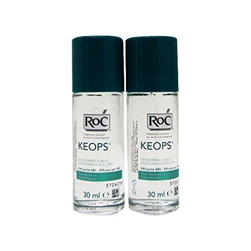 Roc Pack Keops Deodorant Roll On Intense Sweating 2x30ml