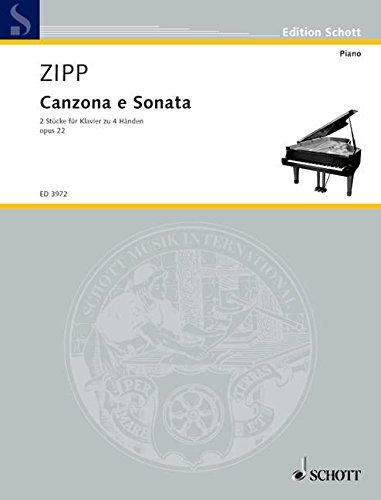 Canzona and Sonata Op. 22 Piano