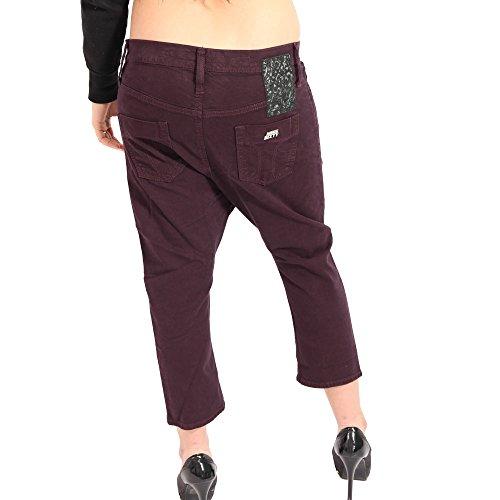 MISS SIXTY Damen Capri Jeans CLIPTIP in Lila Lila