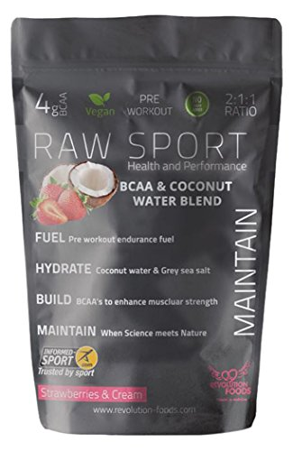 Revolution Foods Raw Sport Vegan BCAA and Coconut Water Blend