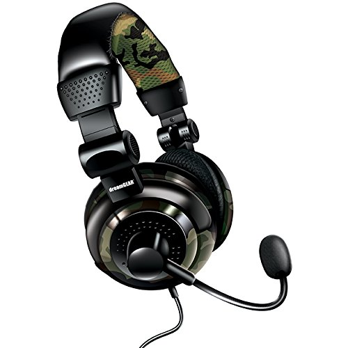 DreamGear Universal Elite Camo Headset (Dreamgear Elite Headset Ps3)