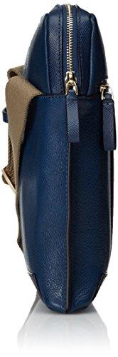 Piquadro Archimede Borsa a tracolla Pelle 21 cm Blu