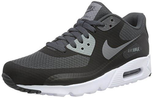 Nike Herren Air Max 90 Ultra Essential Sneakers, Schwarz (Black/Cool Grey-Anthracite-White), 43 EU