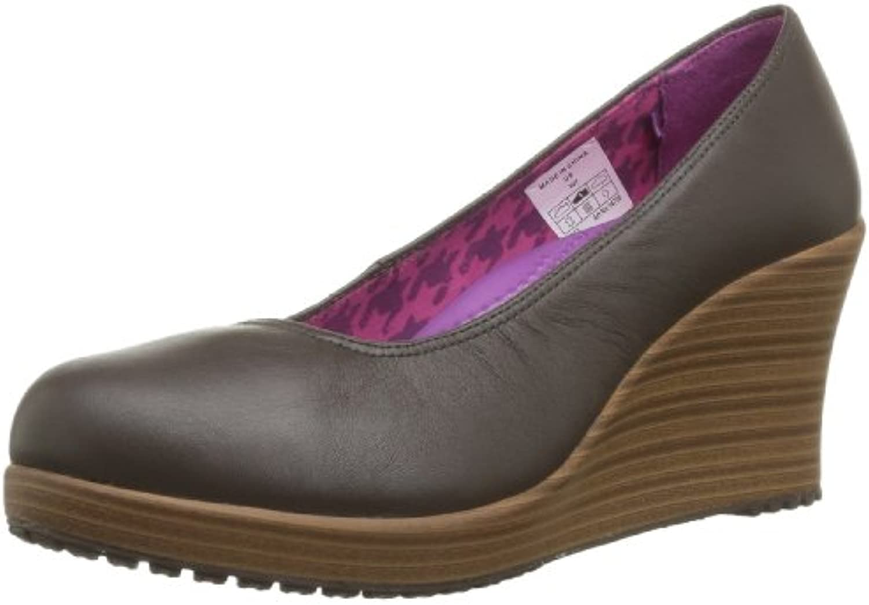 Crocs - Zoccoli A-Leigh Closed Toe Wedge, Donna | economia  | Scolaro/Ragazze Scarpa