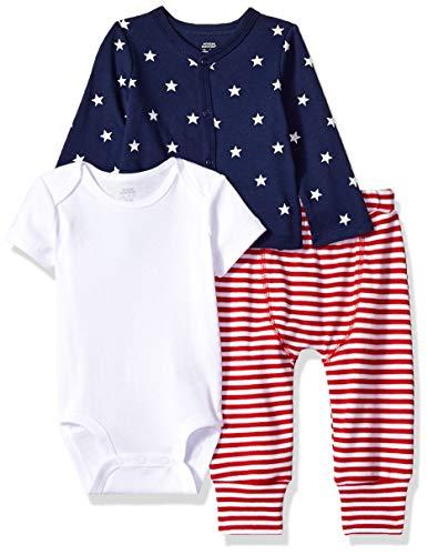71edbd06f7 Amazon Essentials 3-Piece Cardigan Set Infant-And-Toddler-Layette-Sets