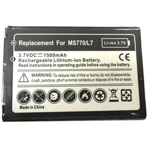 MundoPDA - Batería para LG Optimus L7 P700/P705 (1500 mah)