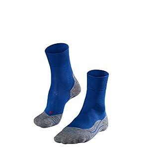 FALKE Herren RU4 Running Socken Laufsocken – Baumwollgemisch, 1 Paar, versch. Farben, Größe  39-48 – Feuchtigkeitsregulierend, schnelltrocknend, Erwärmungseffekt, Mittelstarke Polster