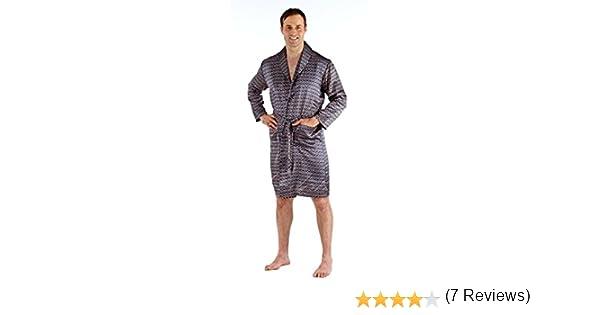 i-smalls Harvey James Mens Satin Lightweight Wrap Dressing Gown ...