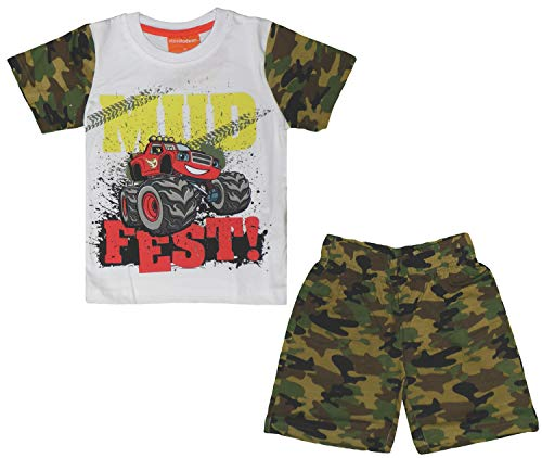 Nickelodeon Blaze Kinder Pyjama-Set Gr. 5 Jahre, Multi -