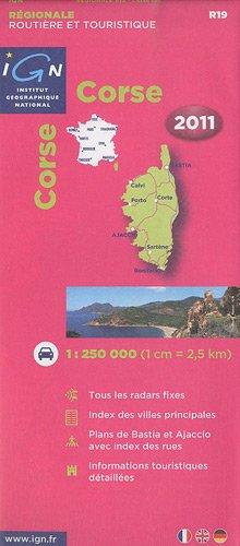 R19 Corse 2011 1/250.000