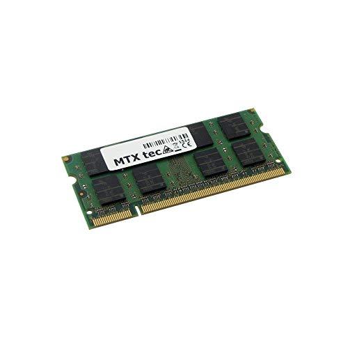 MTXtec Arbeitsspeicher 2GB DDR2-RAM für Dell Latitude D620