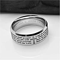 YOYOYAYA Ring Man Titan Stahl Drachenkralle Er/öffnung Edelstahl Frau Paar Schmuck