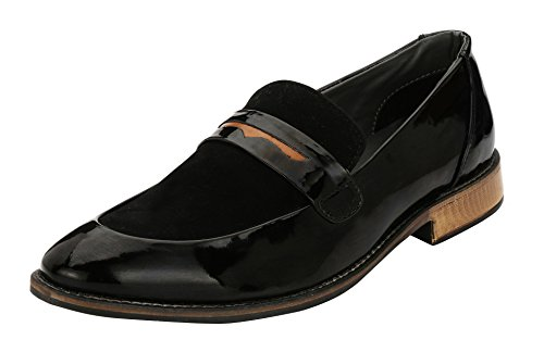 Asken Atelier Men's Black Loafers - 10 UK