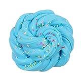Lustige Vented Druck von Mamum mit Floss Cloud Slime mit Druck–Spielzeug Schlamm Spielzeug Stress Relief für Kinder – Einheitsgröße himmelblau