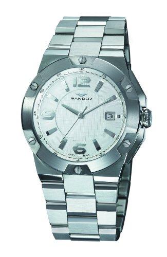 Sandoz - 81281-00 - Montre Homme - Quartz - Analogique - Bracelet Acier Inoxydable Argent