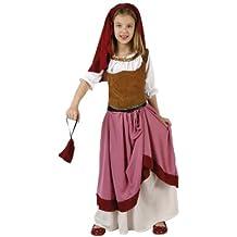 Atosa - Disfraz de medieval para niña, talla 3 - 4 años (96555)