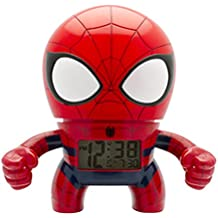 BulbBotz 2020053 Digital cuarzo reloj de alarma con luz