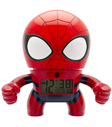 BulbBotz 2020053Digital Cuarzo Reloj de Alarma con luz