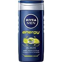 Nivea Men Gel Douche 3en1 Energy 250 ml - Lot de 6
