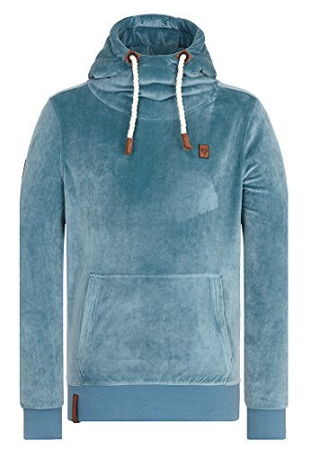 Naketano Male Hoody Supapimmel Mack III Dusty Blue