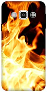 The Racoon song of fire hard plastic printed back Case for Samsung Galaxy A3