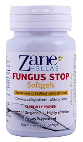 Fungus Stop SOFTGELS. SOLUTION COMPLÉMENTAIRE avec Fungus Solution d'arrêt à ongles pour des résultats plus rapides.