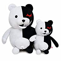 ATA19 - Stuffed Animals - 10-14inch Black White Bear Plush danganronpa monokuma toy bear Dangan Ronpa monobear kigurumi Doll Stuffed figure Gift children