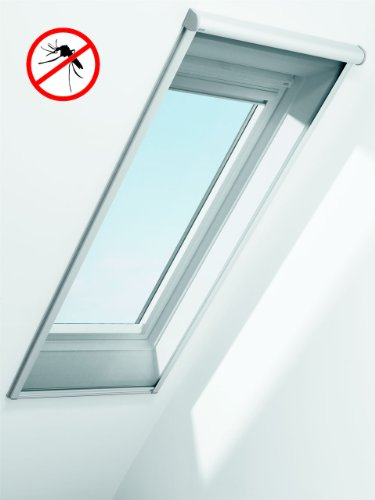 Preisvergleich Produktbild Original VELUX Insektenschutz-Rollo ZIL CK02; 53 cm Breite x 160 cm Höhe; 25% Preisvorteil - Profile Alu gebürstet; versandkostenfrei