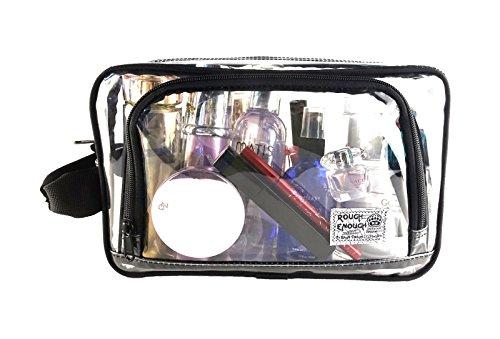ROUGH ENOUGH , Damen Handgelenkstasche Mehrfarbig Camo Piping, schwarz (schwarz) - RE8361 schwarz