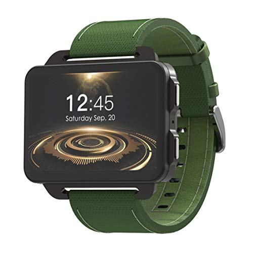 ZHWJH-W Smart Watch, Lemfo Lem4 PRO 2,2 Pollici Smart Screen 3G Smart Watch con 1Gb 16Gb 1200Mh per cardiofrequenzimetro,...