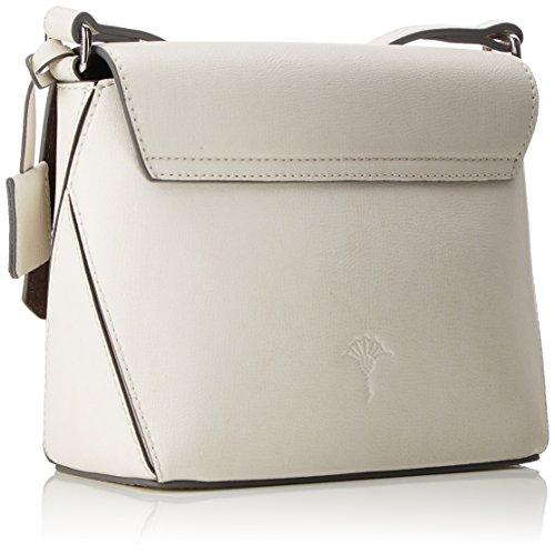 Joop Damen Pure Alexa Shoulderbag Shf Schultertasche, 7.5x18x19 cm Weiß (Offwhite)