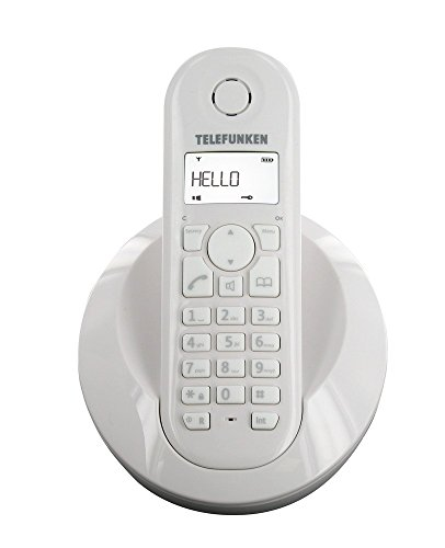 Telefunken - Teléfono Inalámbrico Tb 201 Peps Dect (importado)