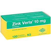 Zink Verla 10mg 100 stk preisvergleich bei billige-tabletten.eu