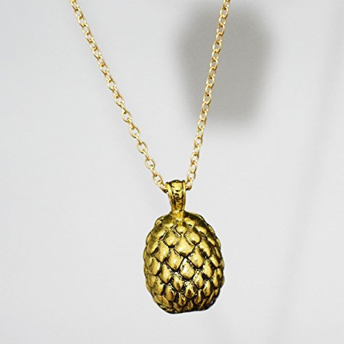 Game of Thrones Drachen Ei Halskette, Daenerys - Games Golden Egg