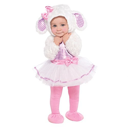 Christy's Toddlers Little Lamb Costume (6-12 Months) by Christy's (Lamb Kleinkind Kostüm)