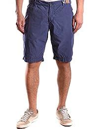 Franklin & Marshall Hombre MCBI127002O Azul Algodon Shorts