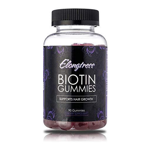 Biotin 5000 Mcg Kapseln (Biotin 5,000mcg Max Stärke - 100 Biotin Kapseln pro Flasche - Biotin für das Haarwachstum verwenden - Wachsen Haare schneller mit Biotin Vitamine)