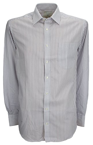 Ex-Store -  Camicia classiche  - A righe - Classico  - Uomo Viola