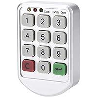 Kit de bloqueo electrónico, Cerradura de contraseña sin llave inteligente electrónica con teclado, número