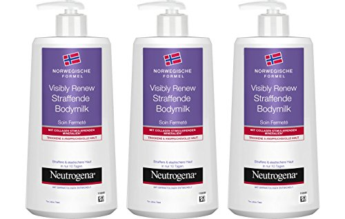 Neutrogena Norwegische Formel Visibly Renew Straffende Bodymilk - 3 x 400ml